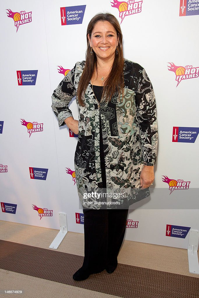 Actress Camryn Manheim attends the cast of 'Hot Flashes' and The American Cancer Society celebrate 'Blow Out Cancer' event at Montage Beverly Hills on June 19, 2012 in Beverly Hills, California.