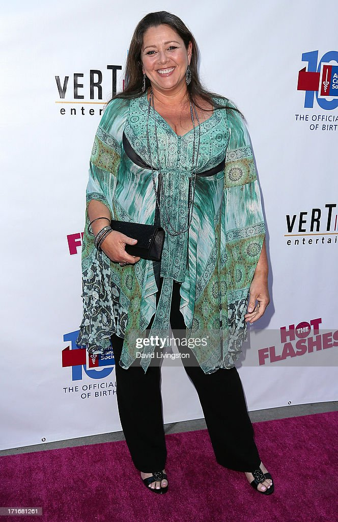 Actress Camryn Manheim attends the premiere of 'The Hot Flashes' at ArcLight Cinemas on June 27, 2013 in Hollywood, California.