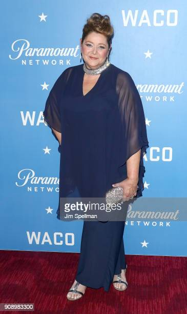 Actress Camryn Manheim attends the 'Waco' world premiere at Jazz at Lincoln Center on January 22 2018 in New York City