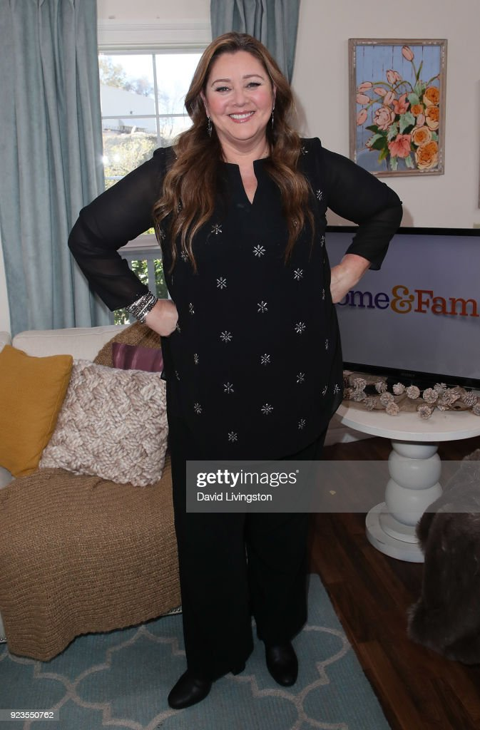 Actress Camryn Manheim visits Hallmark's 'Home & Family' at Universal Studios Hollywood on February 23, 2018 in Universal City, California.