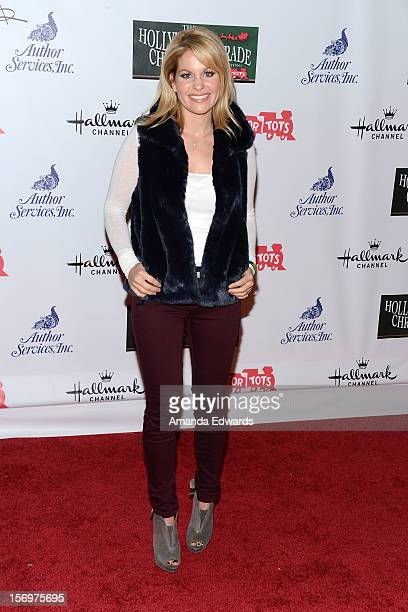 Actress Candace Cameron Bure arrives at the 2012 Hollywood Christmas Parade Benefiting Marine Toys For Tots on November 25 2012 in Hollywood...