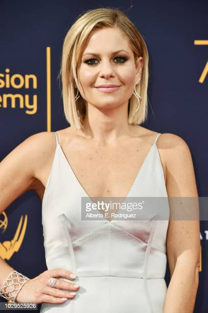Actress Candace Cameron Bure attends the 2018 Creative Arts Emmy Awards at Microsoft Theater on September 8 2018 in Los Angeles California