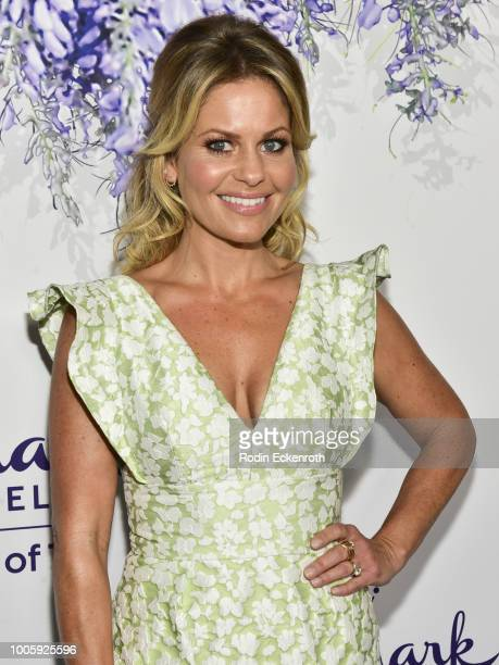 Actress Candace Cameron Bure attends the 2018 Hallmark Channel Summer TCA at a private residence on July 26 2018 in Beverly Hills California