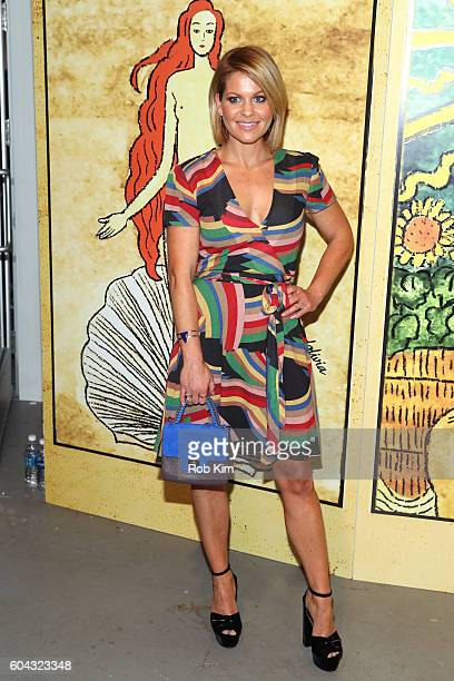 Actress Candace Cameron Bure attends the Alice Olivia by Stacey Bendet Spring/Summer 2017 Presentation during New York Fashion Week September 2016 at...