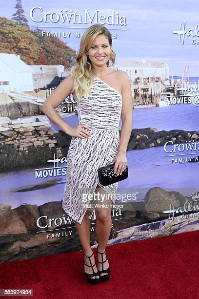 Actress Candace Cameron Bure attends the Hallmark Channel and Hallmark Movies and Mysteries Summer 2016 TCA press tour event on July 27 2016 in...