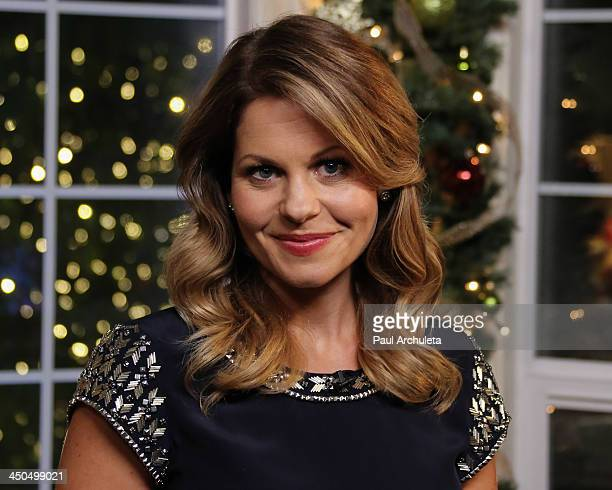 "Actress Candace Cameron Bure attends the Hallmark Channel's ""Home & Family Holiday Special"" at Universal Studios Hollywood on November 18, 2013 in..."