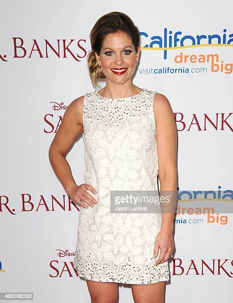 Actress Candace Cameron Bure attends the premiere of Saving Mr Banks at Walt Disney Studios on December 9 2013 in Burbank California