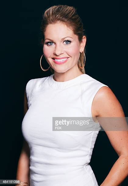 Actress Candace Cameron Bure is photographed at the Fox 2014 Teen Choice Awards at The Shrine Auditorium on August 10 2014 in Los Angeles California