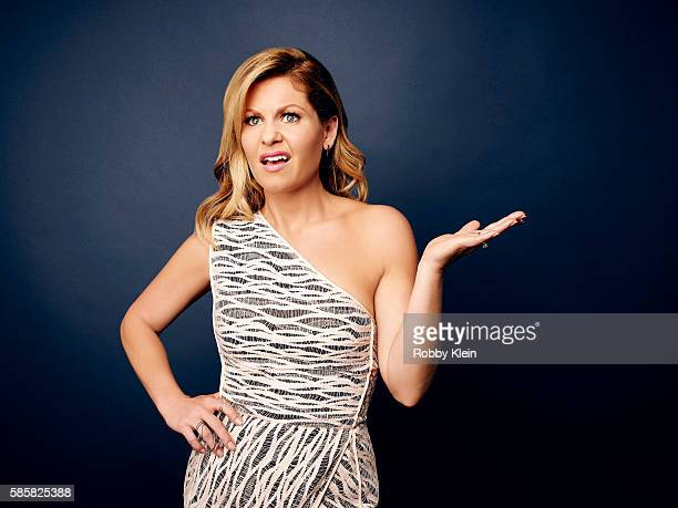 Actress Candace Cameron Bure is photographed at the Hallmark Channel Summer 2016 TCA's on July 27 2016 in Los Angeles California