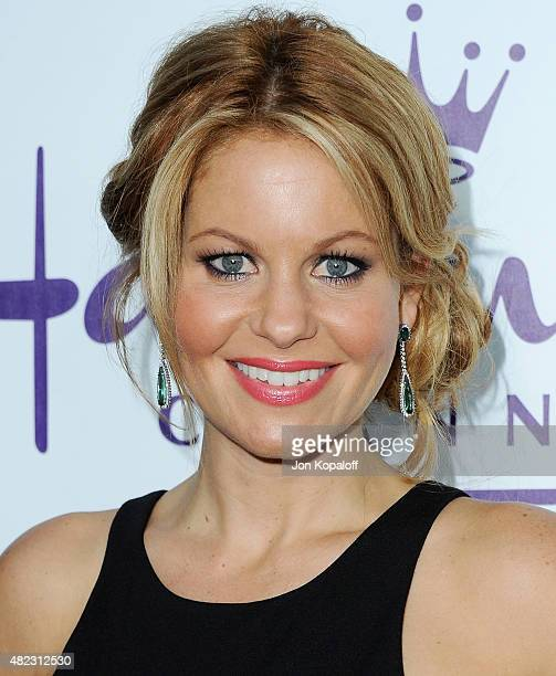Actress Candace CameronBure arrives at 2015 Summer TCA Tour Hallmark Channel and Hallmark Movies And Mysteries on July 29 2015 in Beverly Hills...