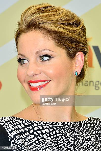 Actress Candace CameronBure arrives at Children Mending Hearts' 6th Annual Fundraiser 'Empathy Rocks A Spring Into Summer Bash' on June 14 2014 in...