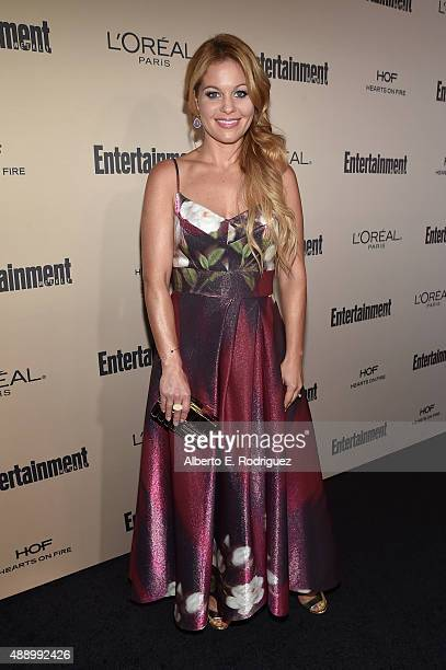Actress Candace CameronBure attends the 2015 Entertainment Weekly PreEmmy Party at Fig Olive Melrose Place on September 18 2015 in West Hollywood...