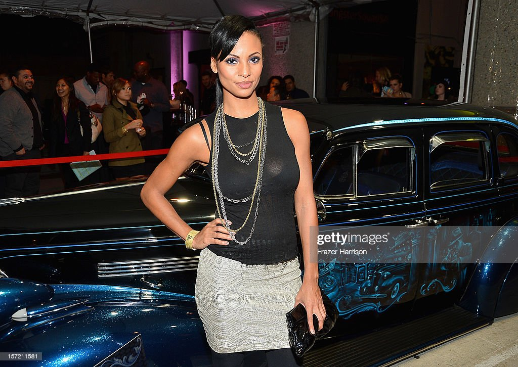 Actress Candace Smith attends SA Studios and Mister Cartoon VIP Screening and After Party of Warner Brothers Pictures 'Gangster Squad' at SA Studios on November 29, 2012 in Los Angeles, California.