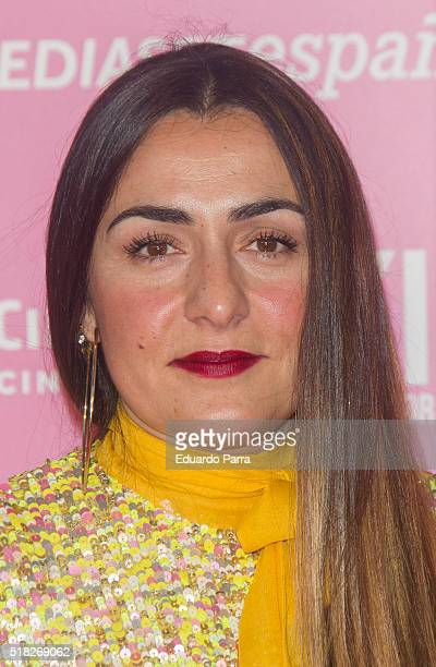 Actress Candela Pena attends 'Kiki el amor se hace' premiere at Capitol cinema on March 30 2016 in Madrid Spain