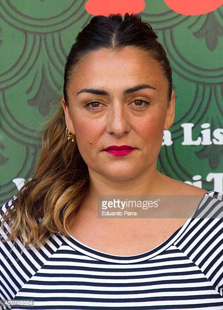 Actress Candela Pena attends 'Mi familia italiana' photocall at Princesa cinema on July 15 2015 in Madrid Spain