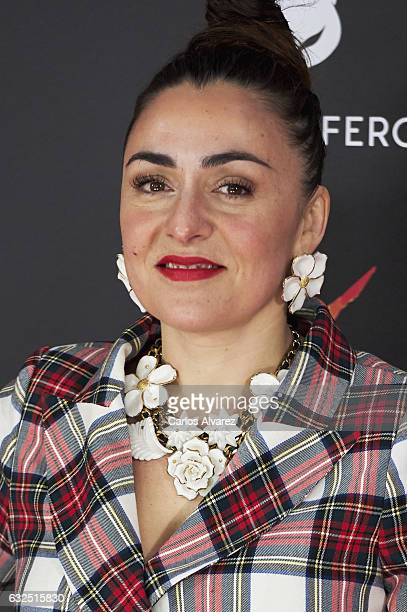 Actress Candela Pena attends the Feroz cinema awards 2016 at the Duques de Pastrana Palace on January 23 2017 in Madrid Spain