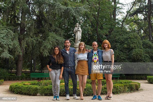 Actress Candela Pena Director Paco Leon actress Natalia de Molina actor Luis Callejo and actress Alexandra Jimenez attend the 'Kiki' Photocall at...