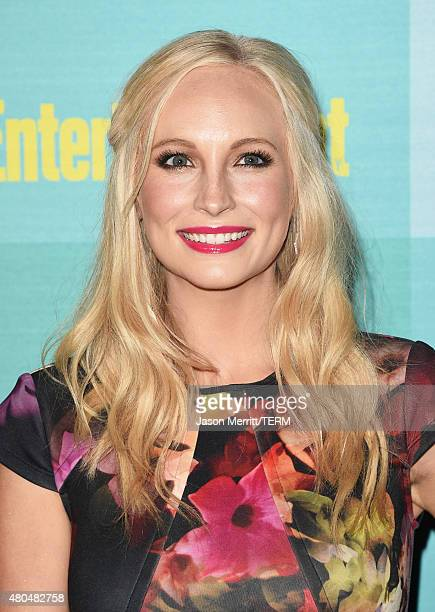 Actress Candice Accola attends Entertainment Weekly's Annual ComicCon Party in celebration of ComicCon 2015 at FLOAT at The Hard Rock Hotel on July...