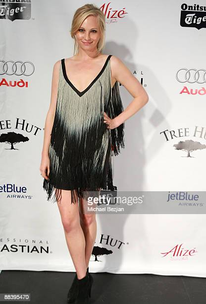 Actress Candice Accola attends Hollywood Life's 11th Annual Young Hollywood Awards Sponsors at The Eli and Edythe Broad Stage on June 7, 2009 in...