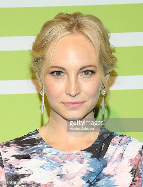 Actress Candice Accola attends The CW Network's New York 2015 Upfront Presentation at The London Hotel on May 14 2015 in New York City