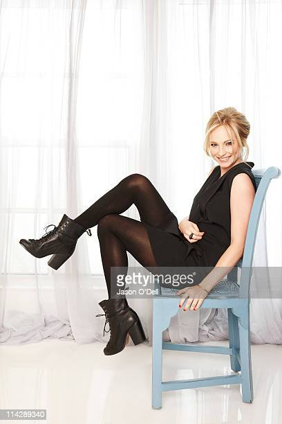 Actress Candice Accola is photographed for TV Guide Magazine in Los Angeles California on January 14 2011 Published image