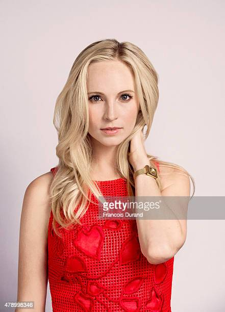 Actress Candice Accola poses for a portrait at the 55th Monte Carlo TV Festival at the Fairmont MonteCarlo on June 16 2015 in MonteCarlo Monaco