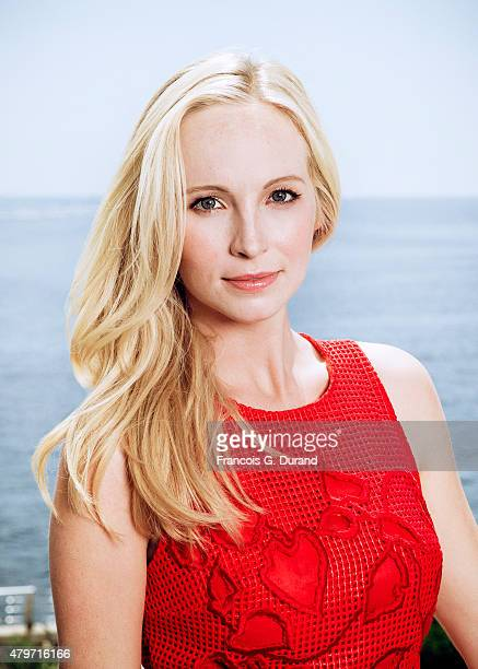Actress Candice Accola poses for a portrait at the 55th Monte Carlo TV Festival at the Fairmont MonteCarlo on June 15 2015 in MonteCarlo Monaco