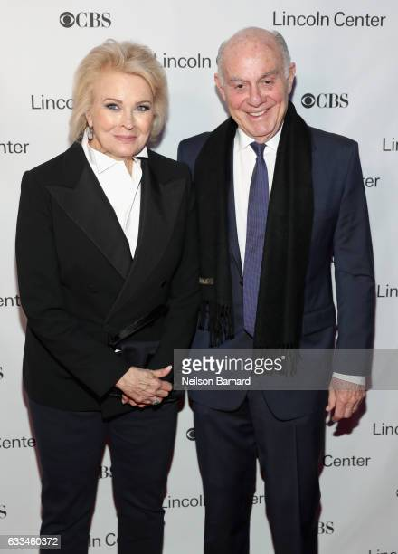 Actress Candice Bergen and Marshall Rose attend Lincoln Center's American Songbook Gala red carpet at Alice Tully Hall on February 1 2017 in New York...