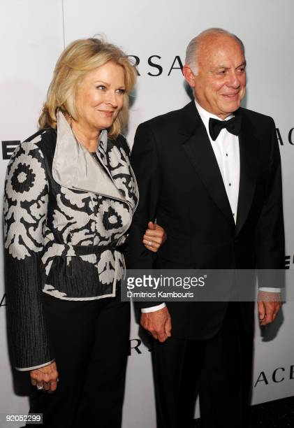 Actress Candice Bergen and Marshall Rose attend the 2009 Whitney Museum Gala at The Whitney Museum of American Art on October 19 2009 in New York City