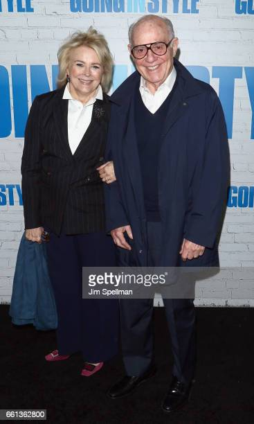 "Actress Candice Bergen and Marshall Rose attend the ""Going In Style"" New York premiere at SVA Theatre on March 30, 2017 in New York City."
