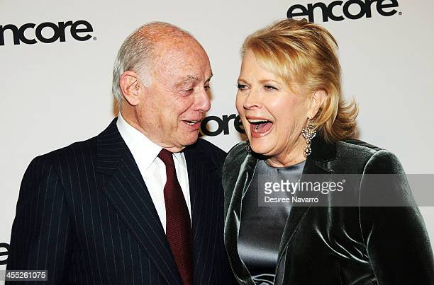 Actress Candice Bergen and Marshall Rose attend the Murphy Brown 25th anniversary event at Museum of Modern Art on December 11 2013 in New York City