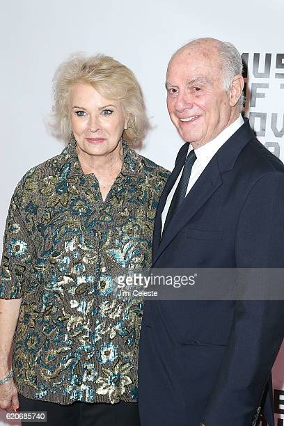 Actress Candice Bergen and Marshall Rose attends the Museum of the Moving Image 30th Annual Salute at 583 Park Avenue on November 2 2016 in New York...