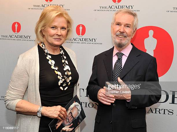 Actress Candice Bergen and writer/director Robert Benton attend the Academy of Motion Pictures and Arts tribute to director and writer Robert Benton...
