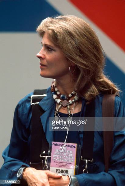 Actress Candice Bergen at a Convention on July 121976 in New York New York