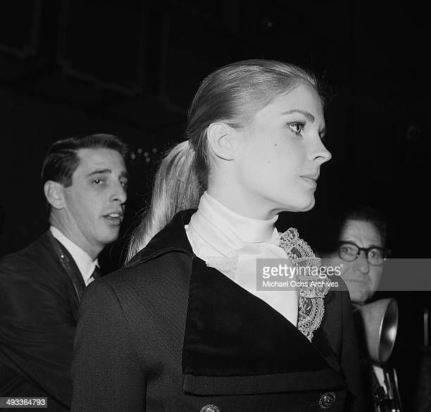 Actress Candice Bergen attends a show in Los Angeles, California.