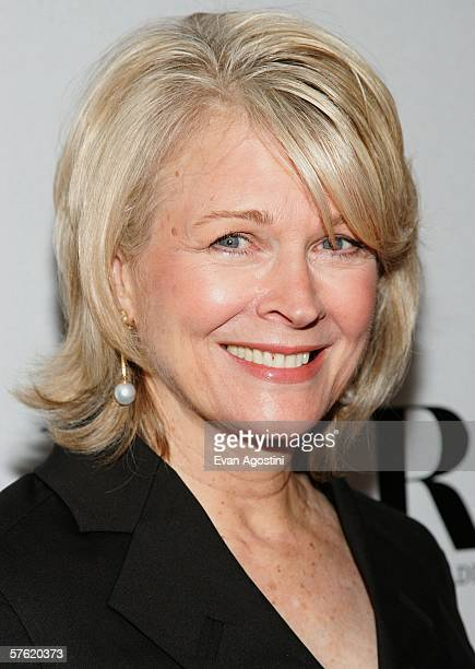 Actress Candice Bergen attends the Fox Home Entertainment Boston Legal DVD release celebration at The Museum of Television Radio May 15 2006 in New...