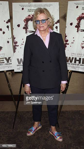 Actress Candice Bergen attends the 'WhiteyUnited States Of America V James J Bulger' New York premiere at Dolby 88 Theater on June 17 2014 in New...