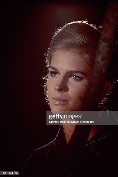 Actress Candice Bergen in a scene from the movie 'The Magus', 1968.
