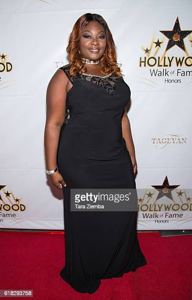 Actress Candice Glover attends the Hollywood Walk of Fame Honors at Taglyan Complex on October 25 2016 in Los Angeles California