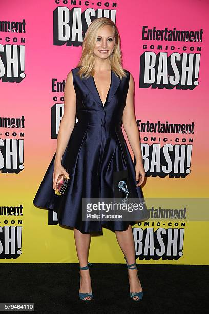 Actress Candice King attends Entertainment Weekly's Annual ComicCon Party 2016 at Float at Hard Rock Hotel San Diego on July 23 2016 in San Diego...