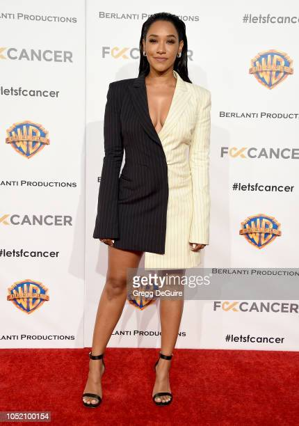 Actress Candice Patton arrives at FCancer's 1st Annual Barbara Berlanti Heroes Gala at Warner Bros Studios on October 13 2018 in Burbank California