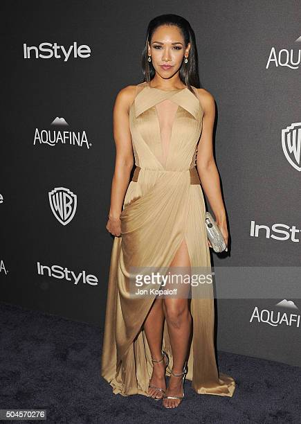 Actress Candice Patton arrives at the 2016 InStyle And Warner Bros 73rd Annual Golden Globe Awards PostParty at The Beverly Hilton Hotel on January...