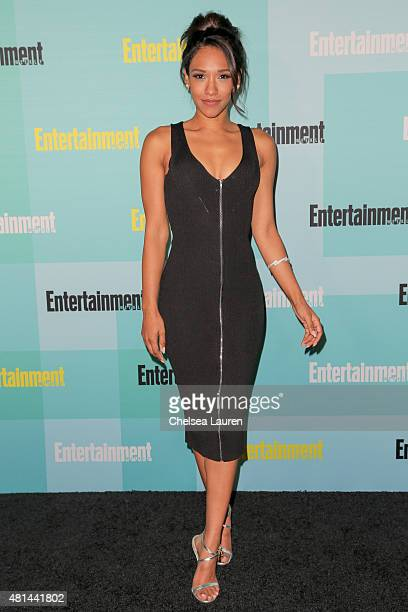 Actress Candice Patton arrives at the Entertainment Weekly celebration at Float at Hard Rock Hotel San Diego on July 11 2015 in San Diego California