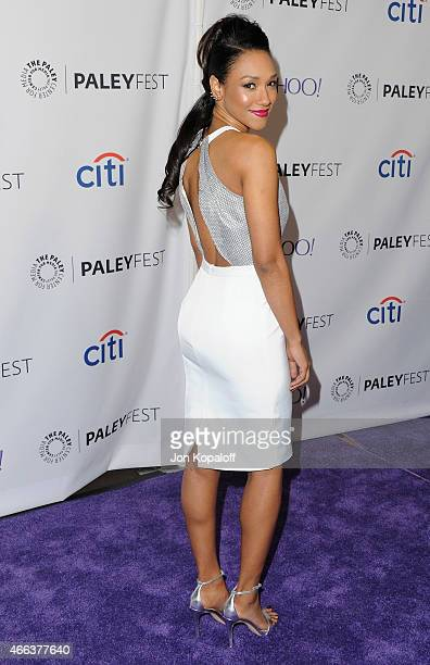 Actress Candice Patton arrives at The Paley Center For Media's 32nd Annual PALEYFEST LA Arrow And The Flash at Dolby Theatre on March 14 2015 in...