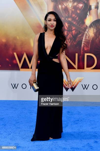 Actress Candice Patton arrives at the Premiere Of Warner Bros Pictures' 'Wonder Woman' at the Pantages Theatre on May 25 2017 in Hollywood California