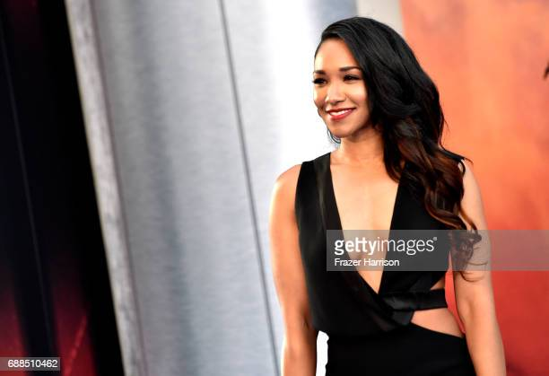 Actress Candice Patton arrives at the Premiere Of Warner Bros Pictures' Wonder Woman at the Pantages Theatre on May 25 2017 in Hollywood California