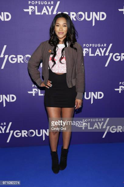 Actress Candice Patton attends day 2 of POPSUGAR Play/Ground on June 10 2018 in New York City