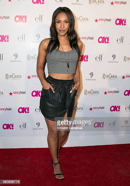Actress Candice Patton attends OK Magazine's 'So Sexy' LA event at Lure on May 21 2014 in Hollywood California