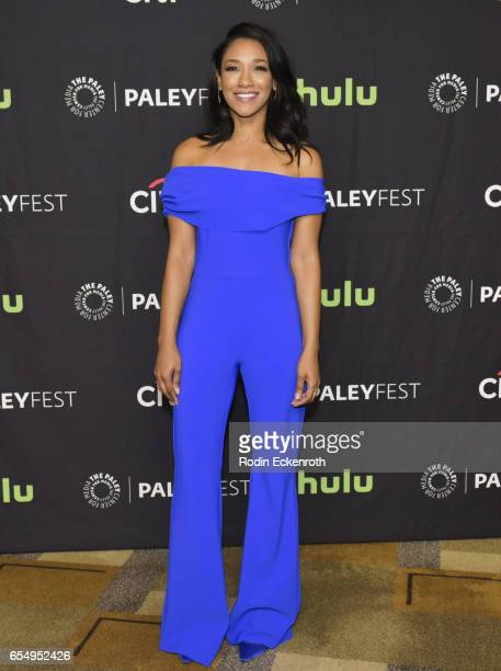 Actress Candice Patton attends The Paley Center for Media's 34th Annual PaleyFest Los Angeles The CW at Dolby Theatre on March 18 2017 in Hollywood...