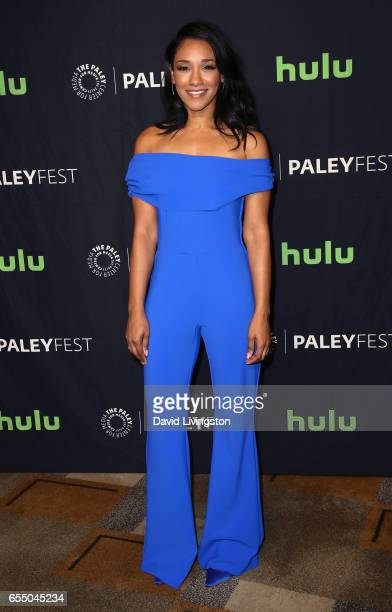 Actress Candice Patton attends The Paley Center For Media's 34th Annual PaleyFest Los Angeles presentation of The CW's Heroes Aliens at Dolby Theatre...